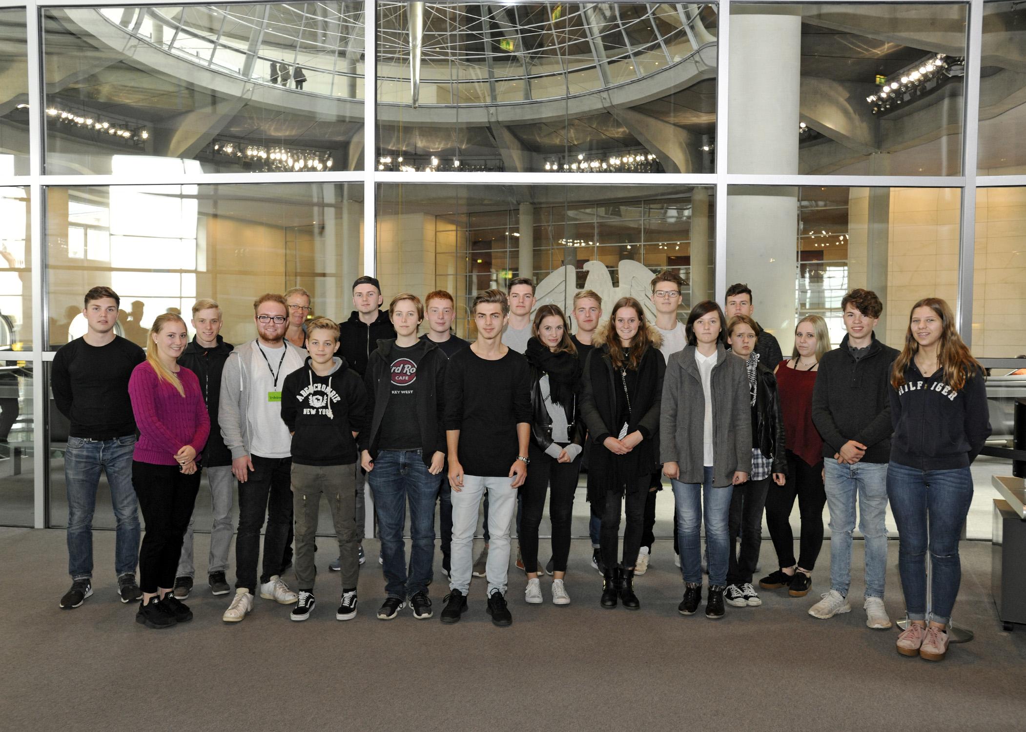 Vom Winde verweht – Geschichtsprojektkurs im Bundestag