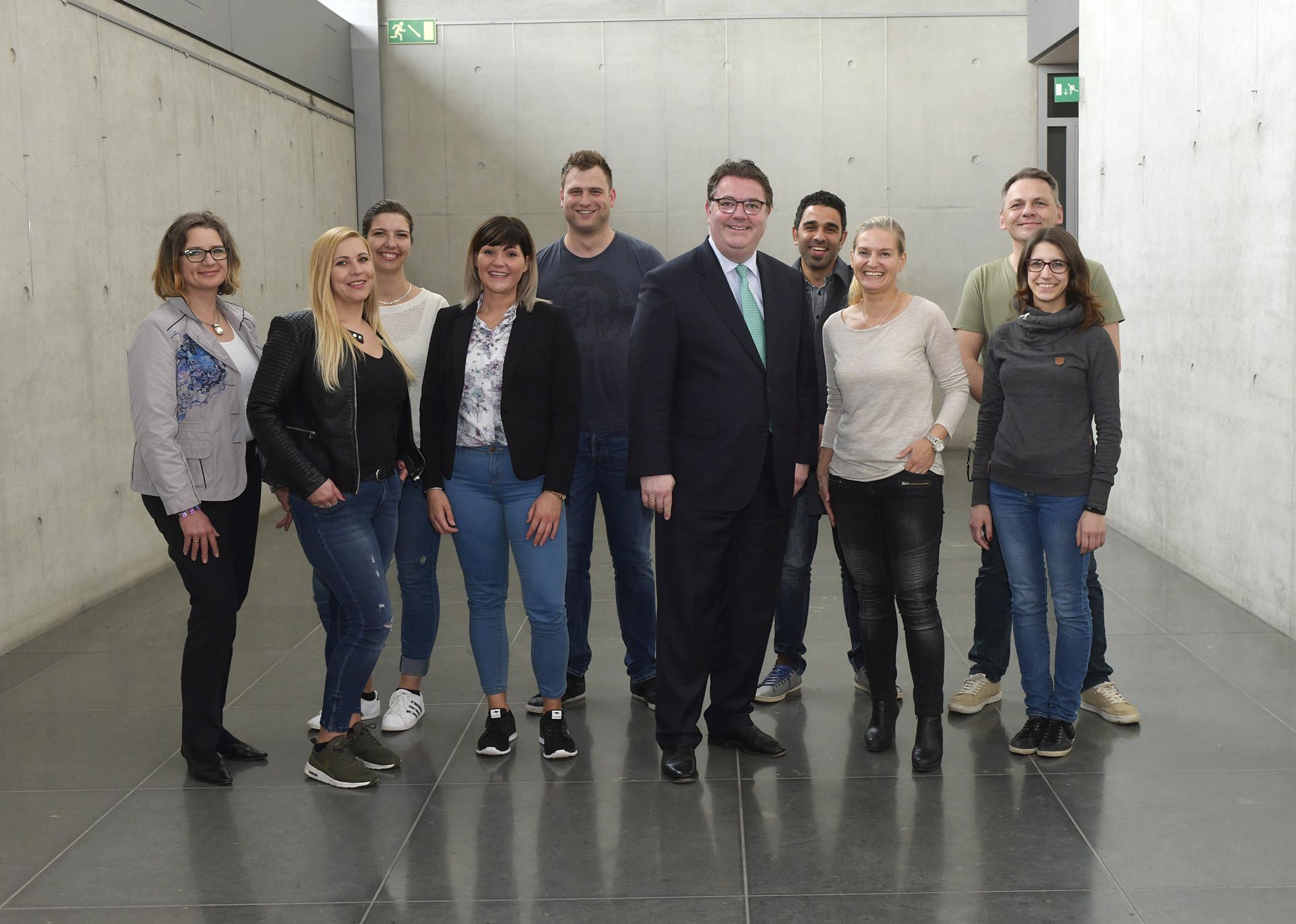 BBA Krefeld – im Bundestag live dabei