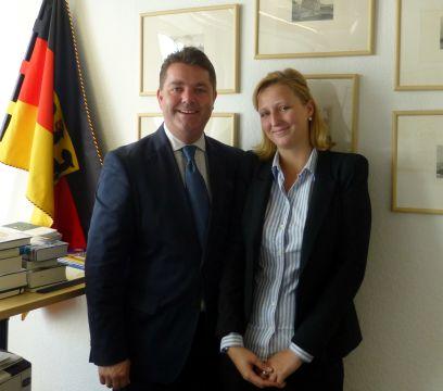 """Sophie Huett: """"Spannende, lehrreiche und tolle Zeit in Berlin!"""""""