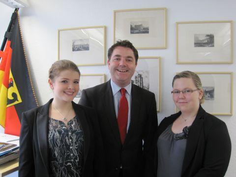 4 Wochen Schülerpraktikum im Abgeordnetenbüro Heveling in Berlin