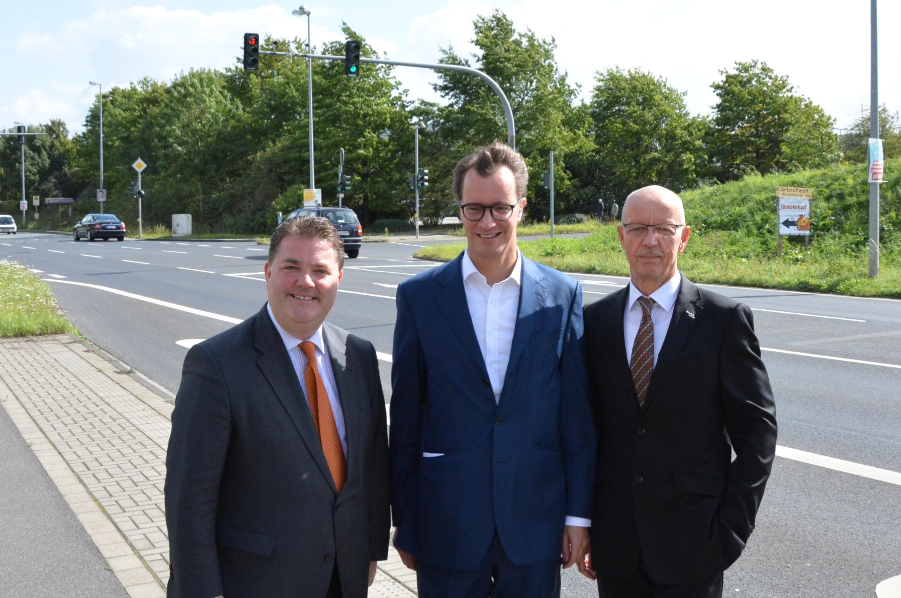 Landesverkehrsminister Hendrik Wüst MdL zu Gast bei der MIT Jüchen