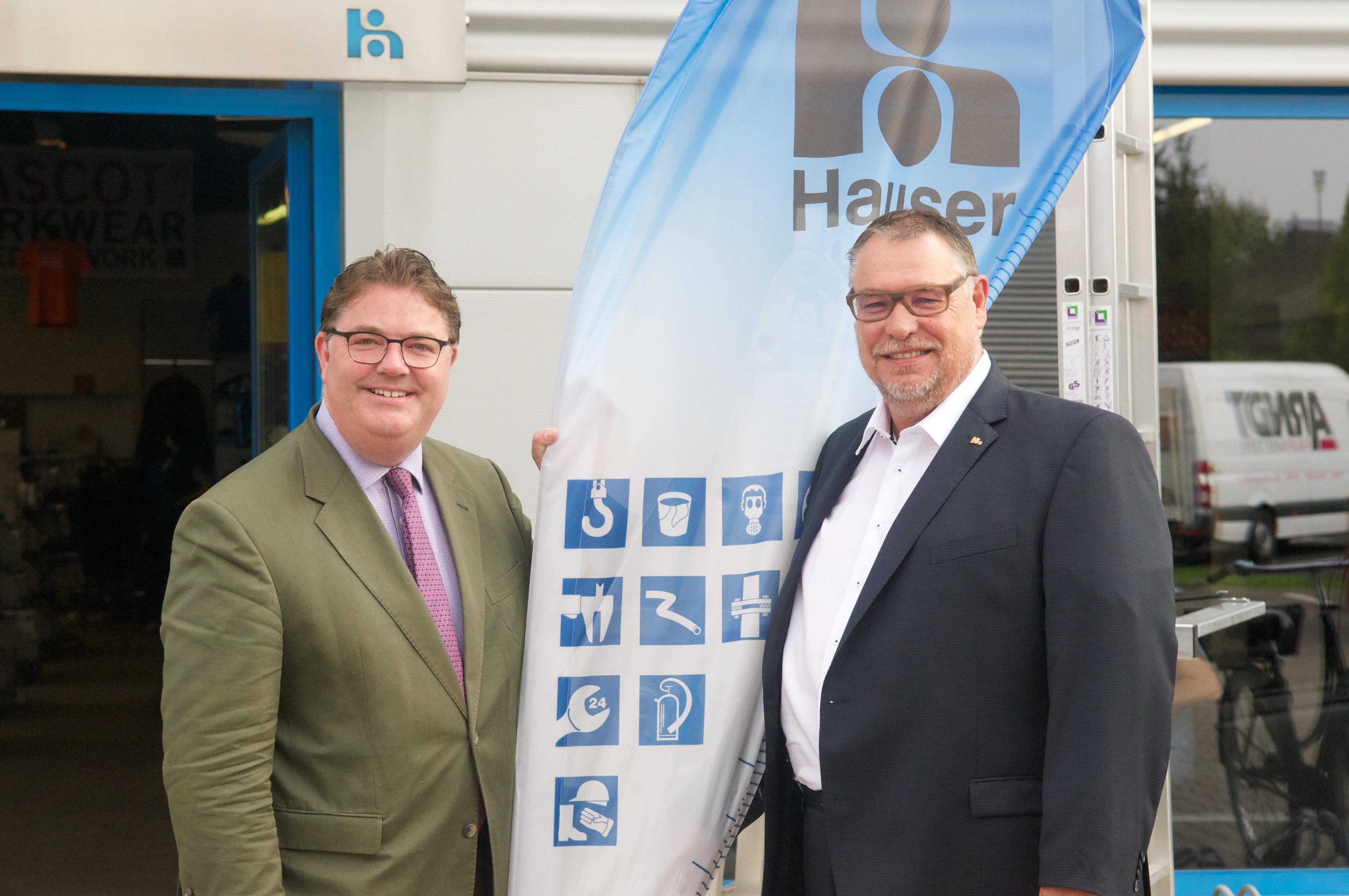 Ansgar Heveling MdB besucht Hauser Gruppe