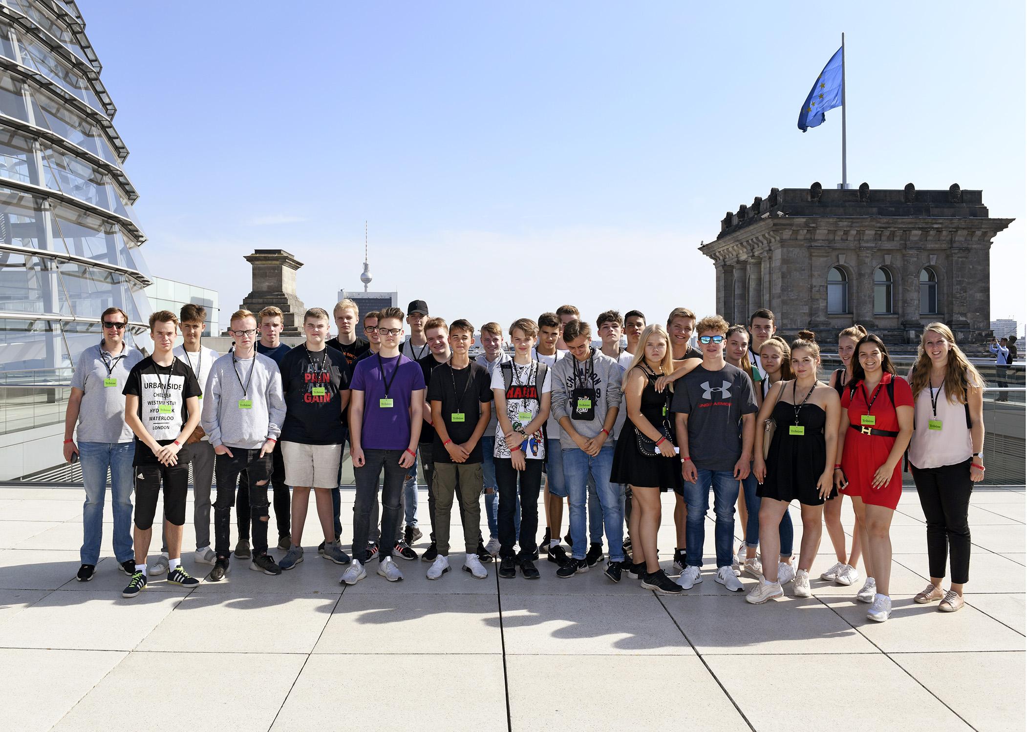 Kaarster Schüler im Bundestag