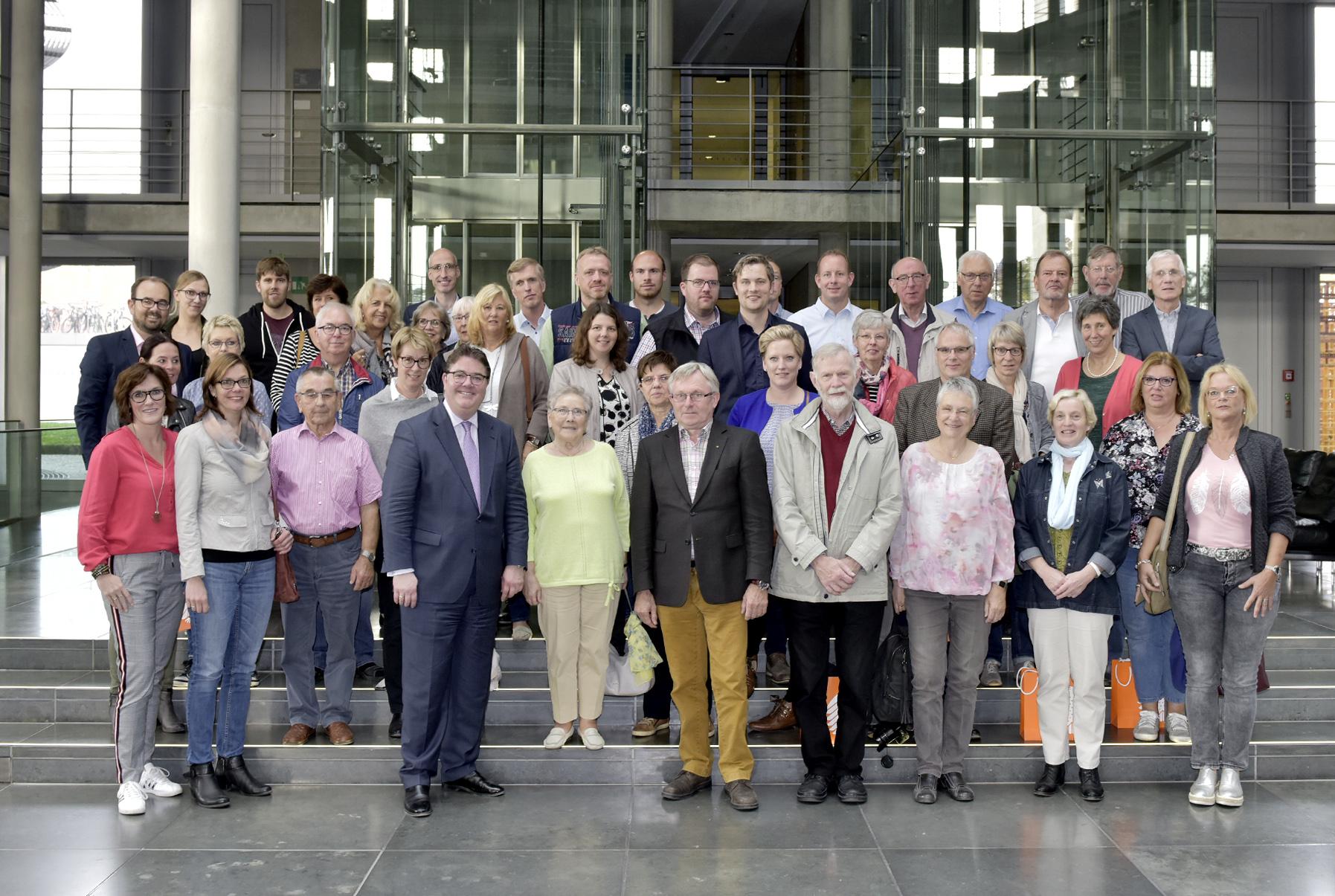 Im Bundestag live dabei