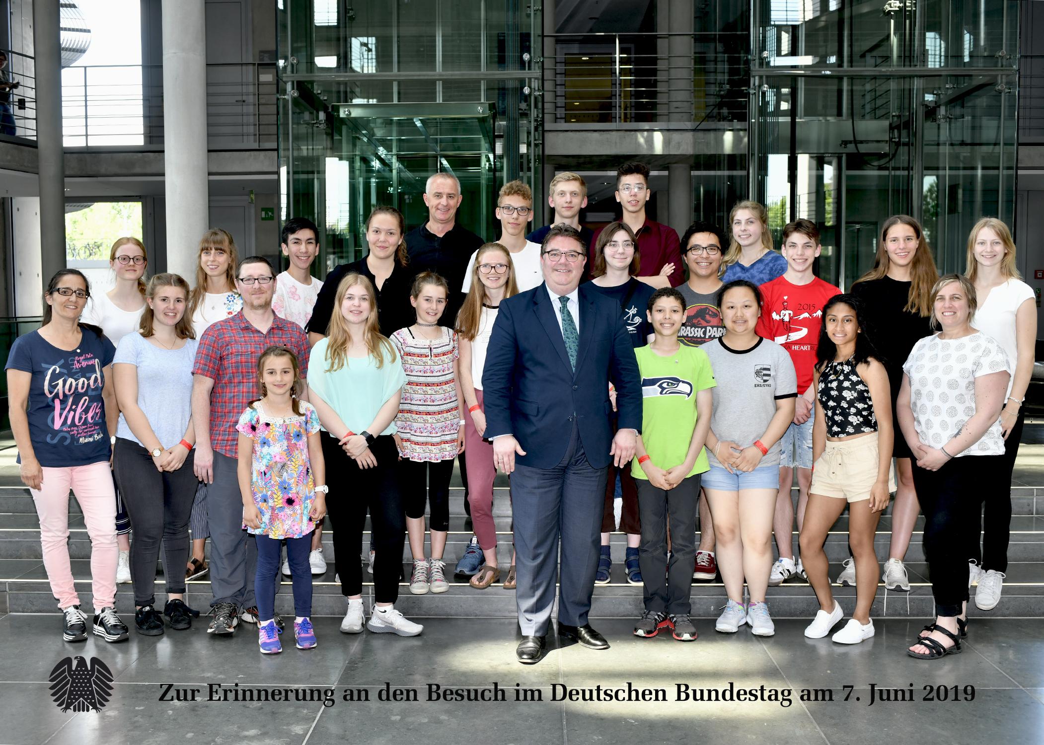 Besuch aus Alaska für Ansgar Heveling in Berlin