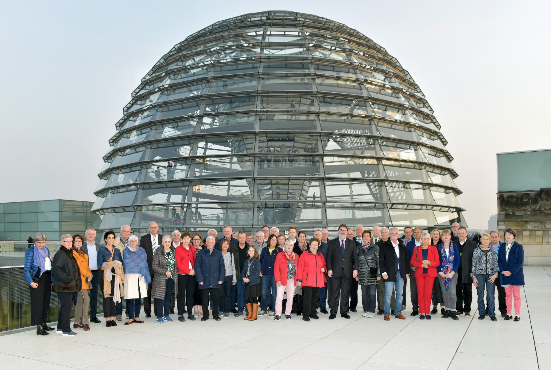 Aus dem Rhein – Kreis an die Spree – auf Einladung von Ansgar Heveling in Berlin