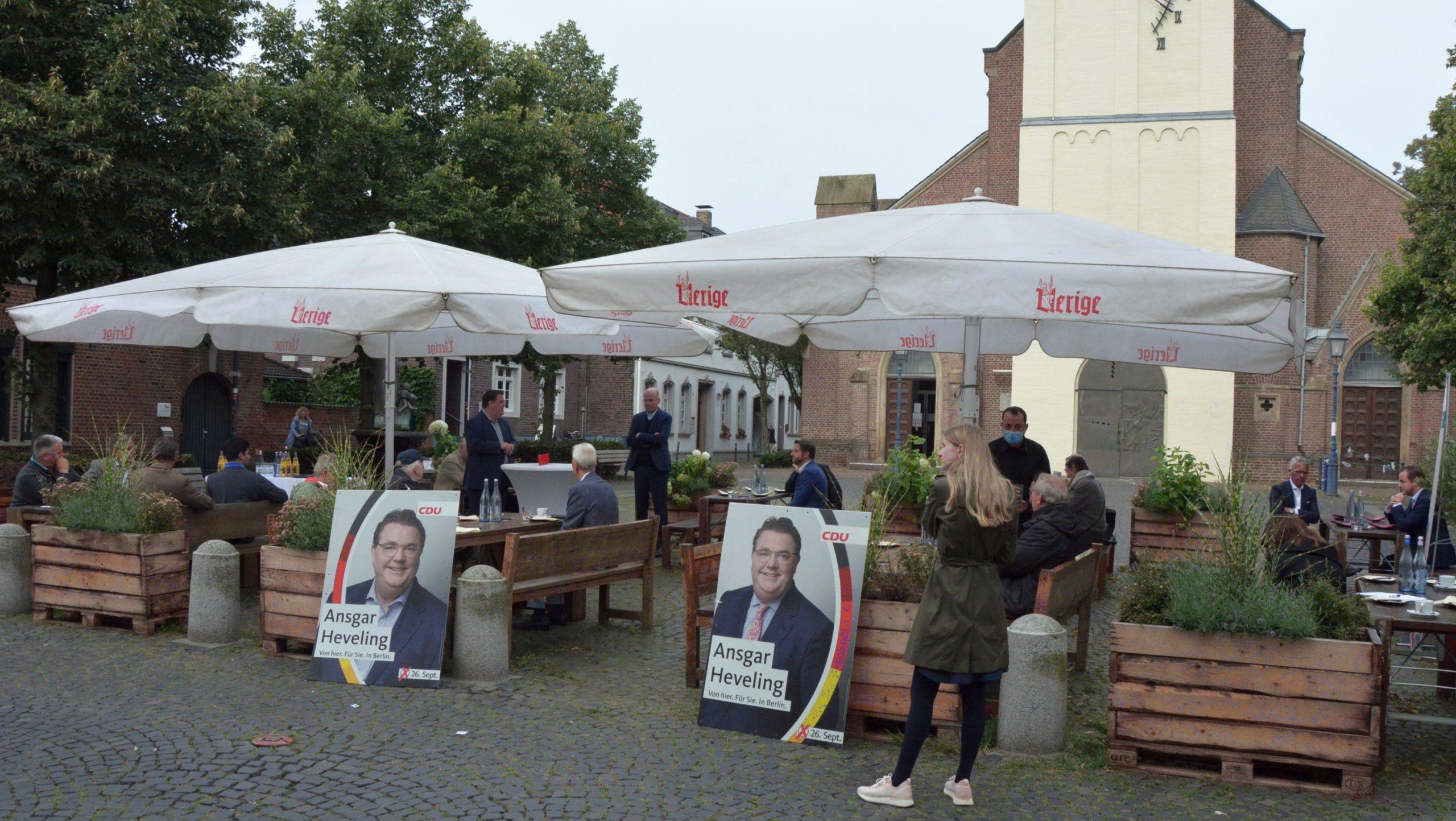 Open-Air Frühstück mit CDU Fraktionsvorsitzendem Ralph Brinkhaus