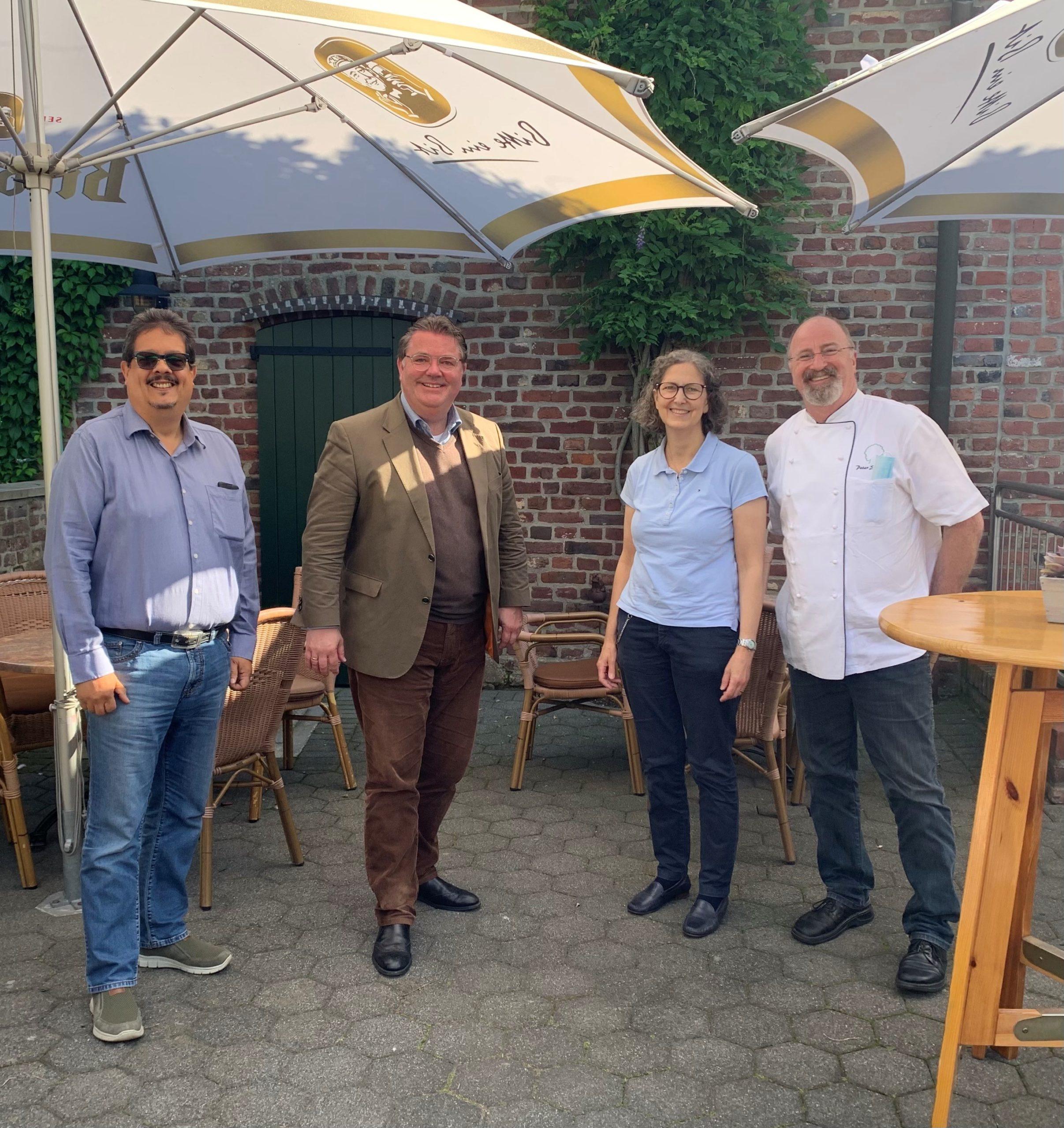 Sommertour Ansgar Heveling – Ansgar Heveling besucht Liedberger Landgasthaus